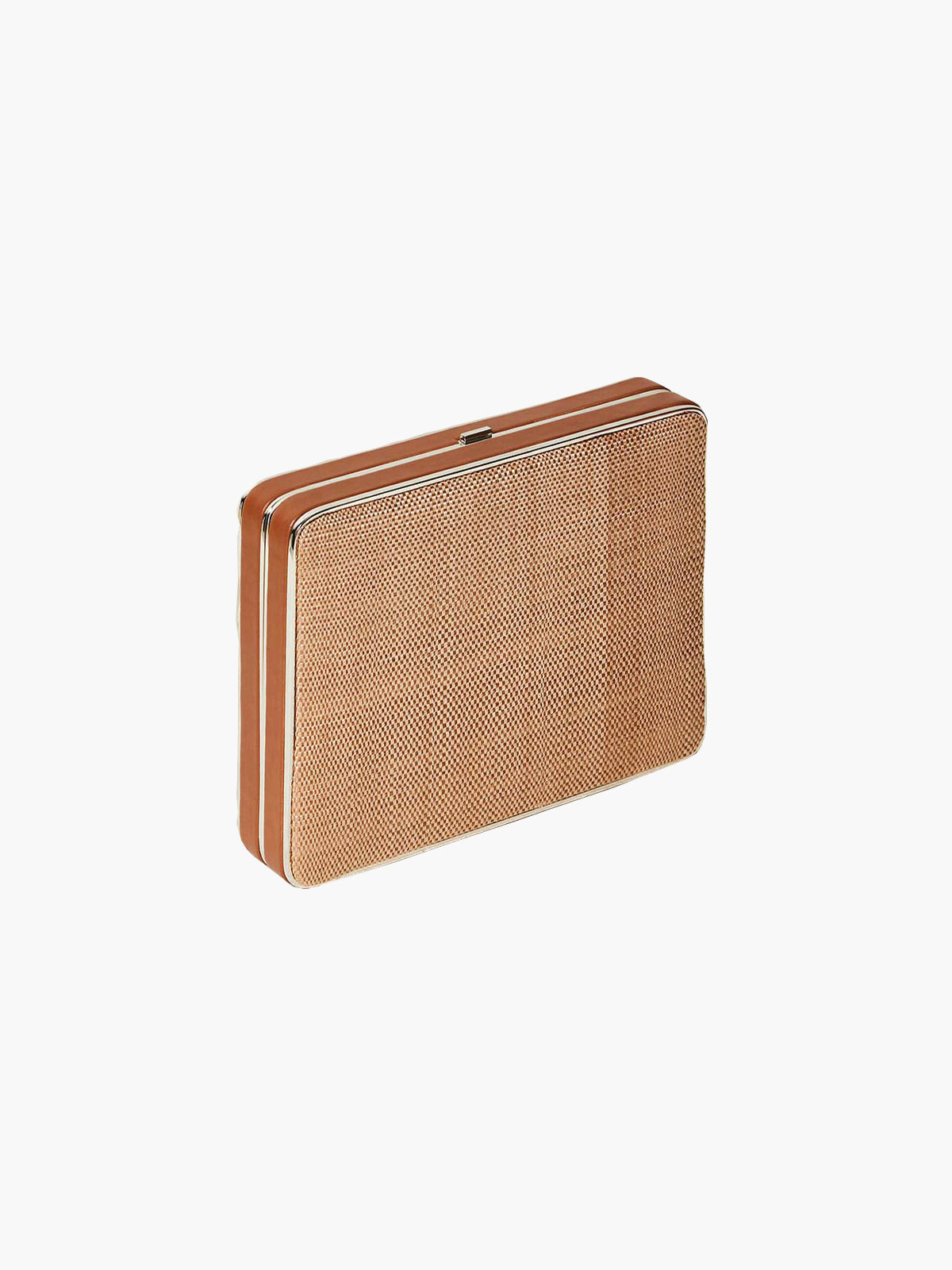 Square Compact Banana Leaf | Cognac
