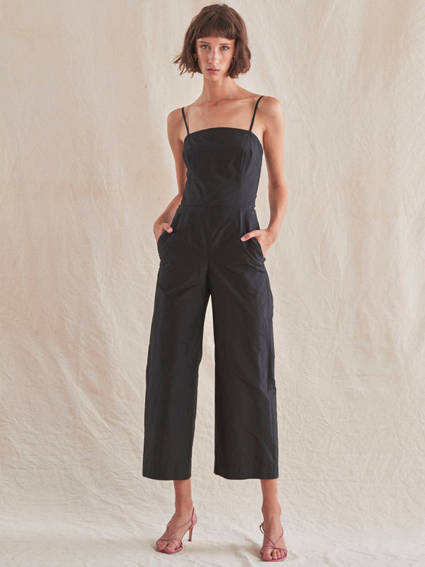 Edie Jumpsuit | Black Edie Jumpsuit | Black