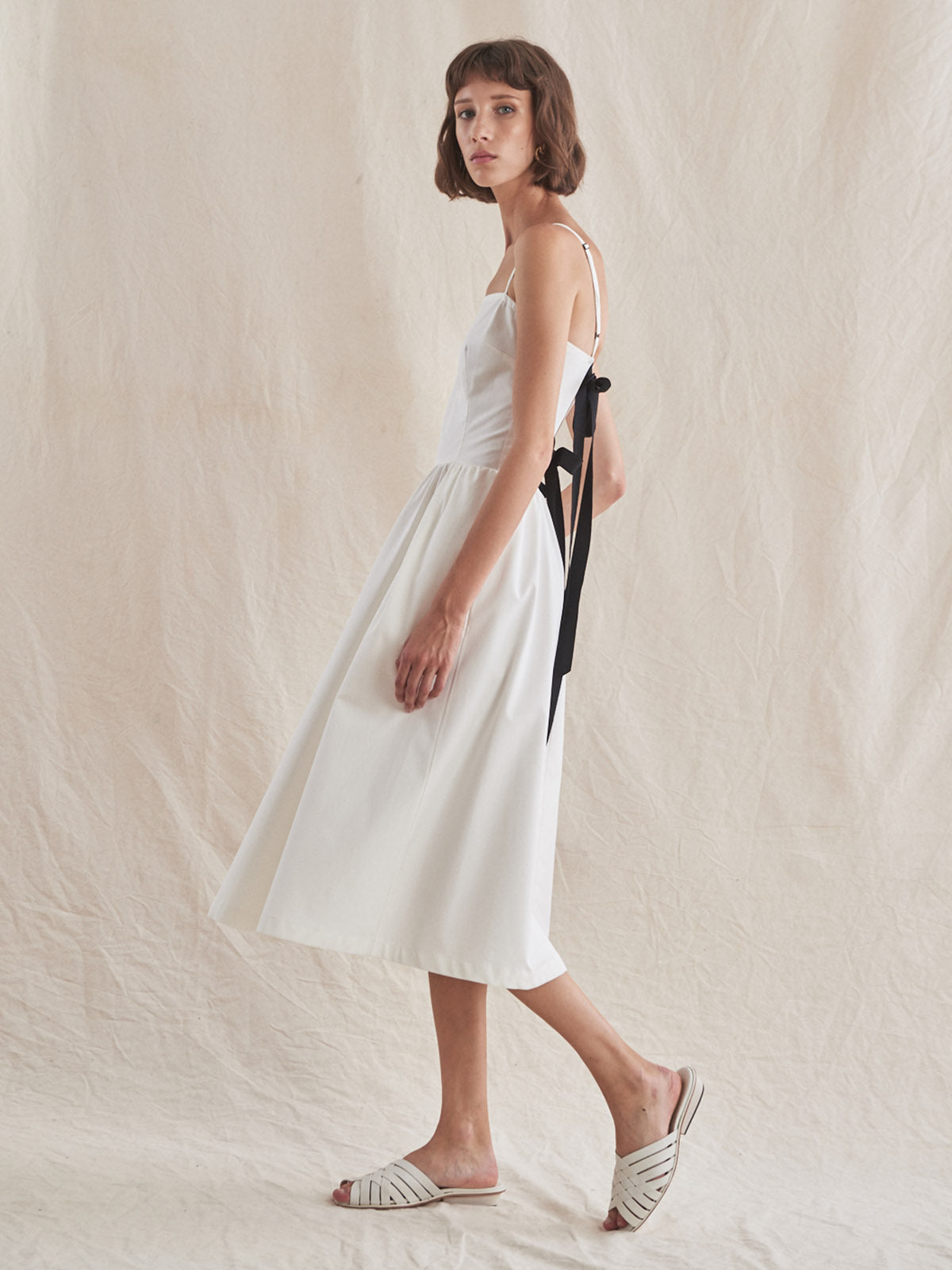 Jackie Dress | White