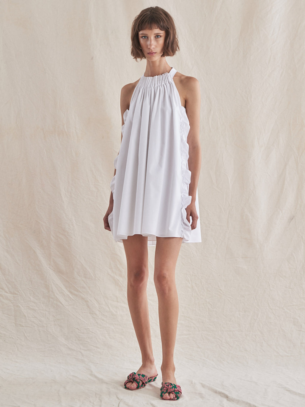 Kass Dress | White