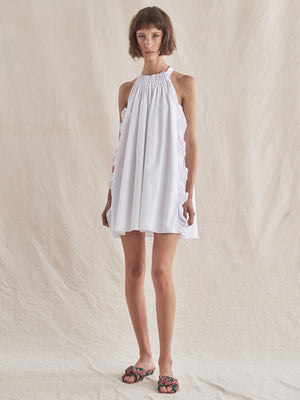 Kass Dress | White Kass Dress | White