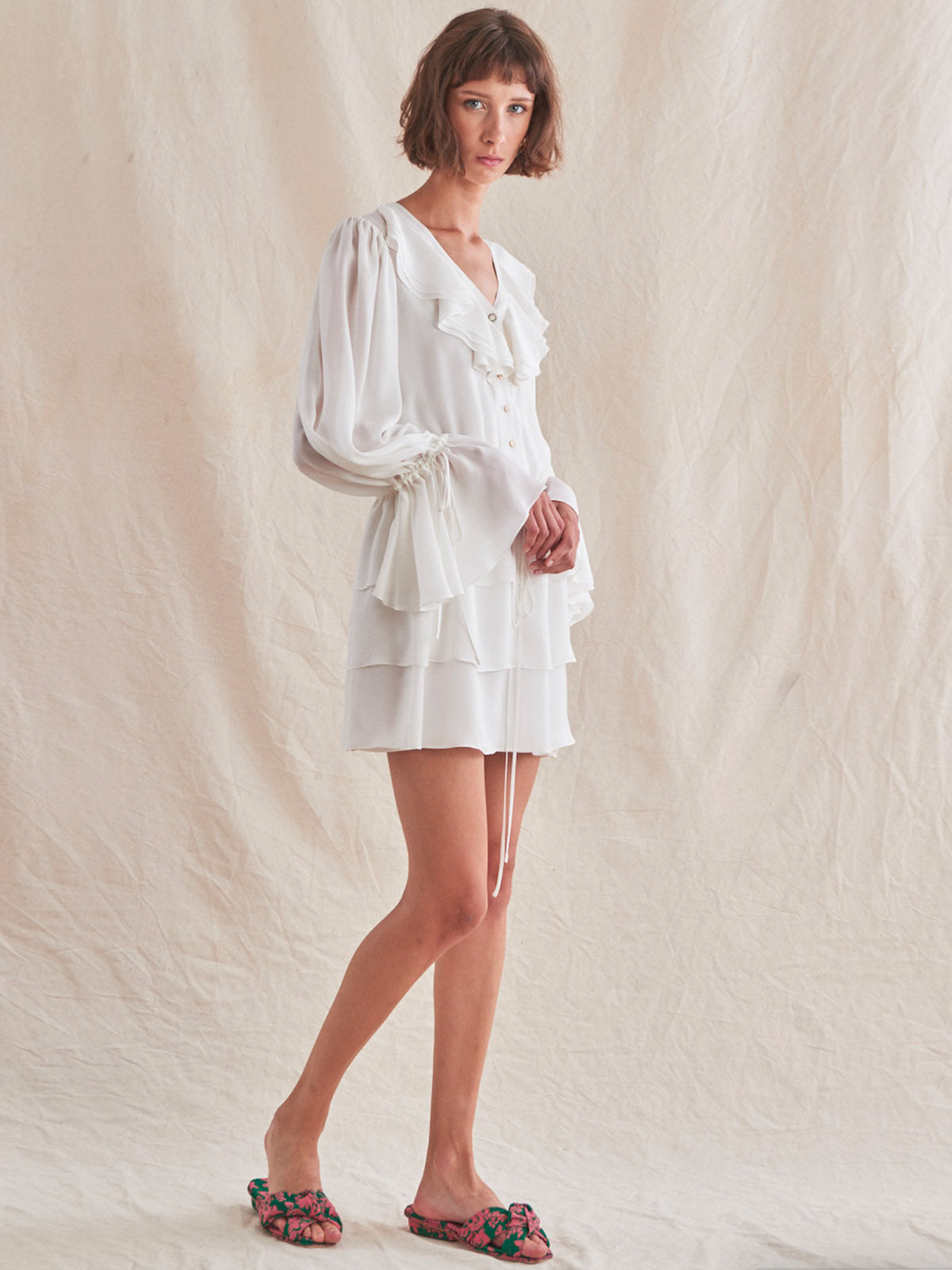 Leora Dress | White Leora Dress | White