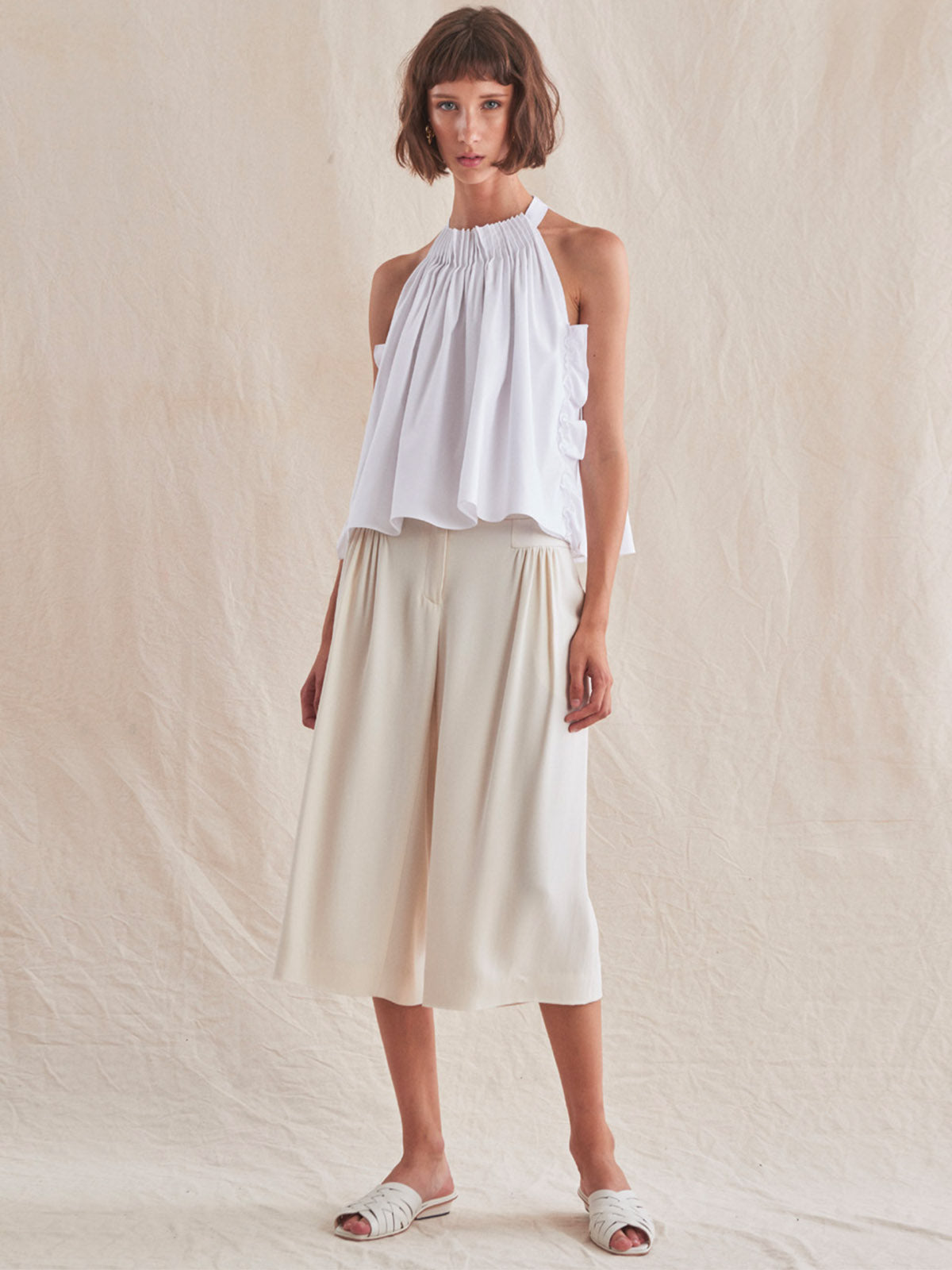 Limona Top | White