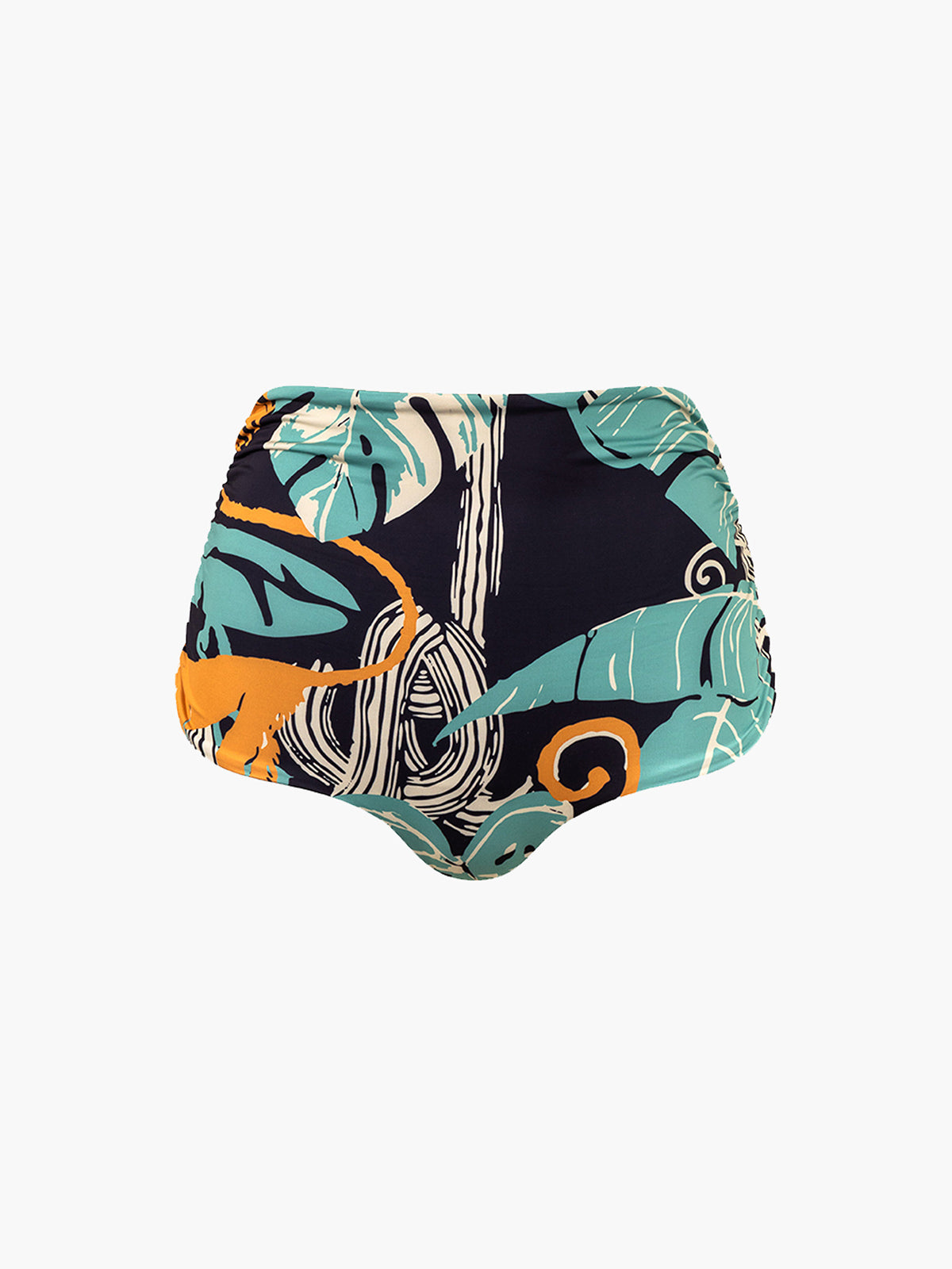 Victoria Vintage Bottom | Blue Monkeys/Dark Blue