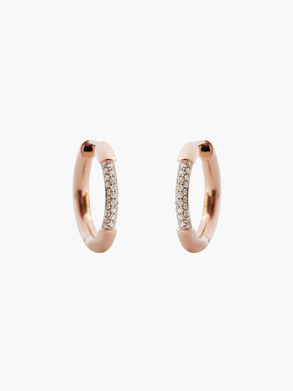 Cerre Hoops | Rose Gold