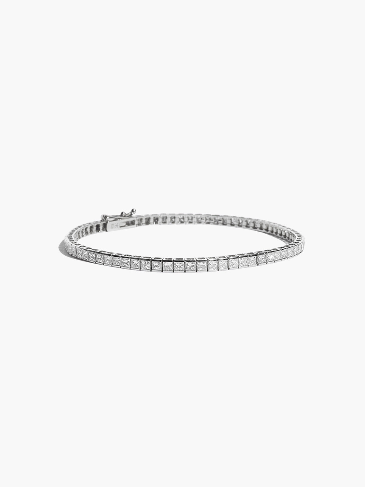 Diamond Eternity Bracelet | White Gold