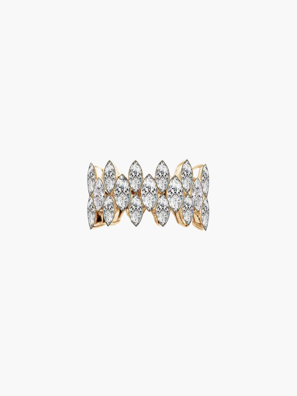 Marquise Cove Ring | Yellow Gold