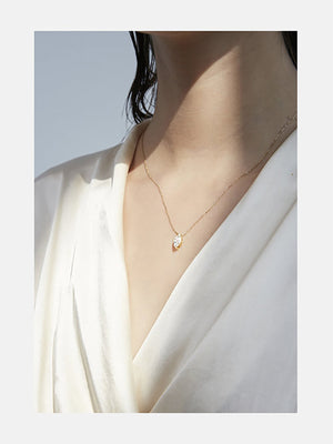 Éternal Marquise Diamond Necklace | Rose Gold Éternal Marquise Diamond Necklace | Rose Gold