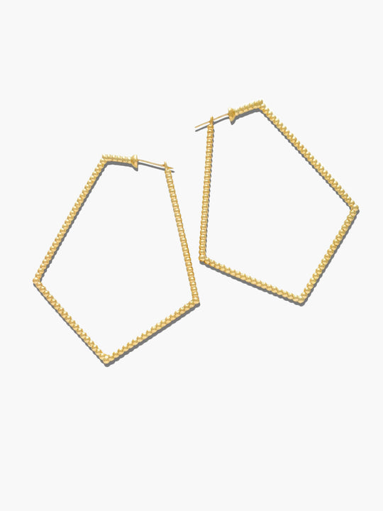 Sybil Pentagon Earrings
