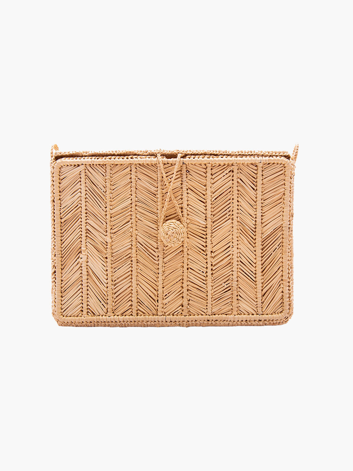 Rayas Rectangular Bag | Natural