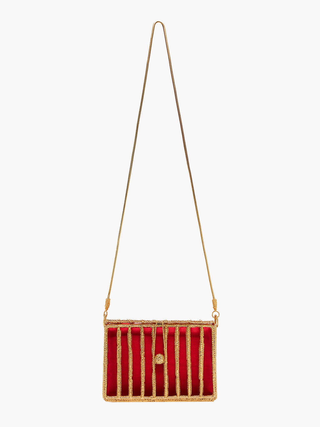 Rayas Rectangular Cage Bag
