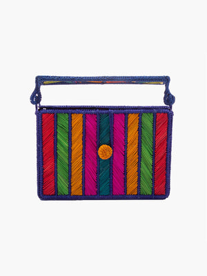 Rayas Top Handle Rectangular Bag Rayas Top Handle Rectangular Bag