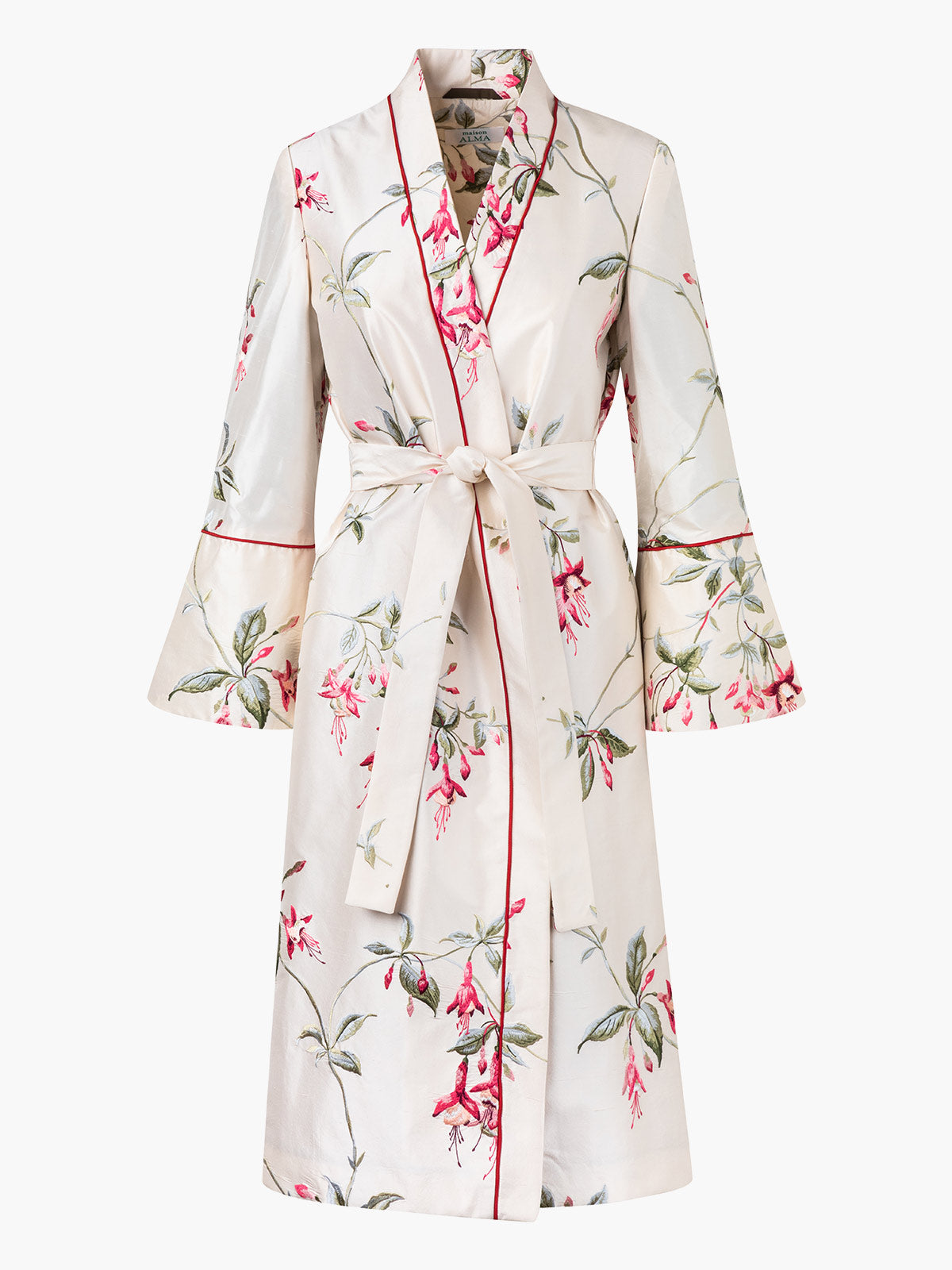 Wrap Coat | Campanas Embroidery