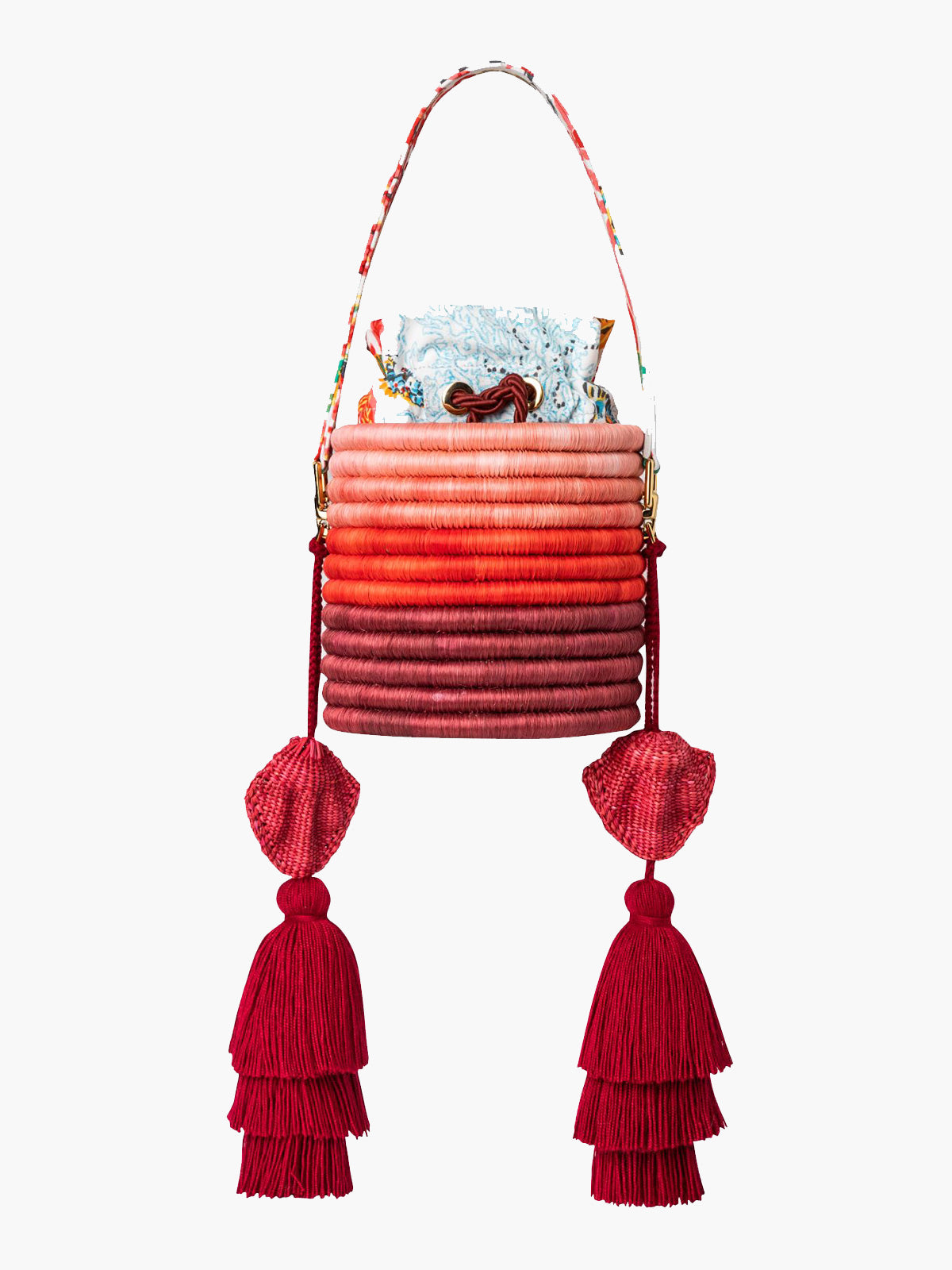 Bucket Bag | Coral Reef Bucket Bag | Coral Reef