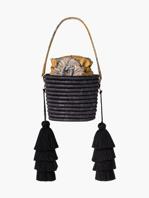 Bucket Bag | Hojarasca Gold Bucket Bag | Hojarasca Gold