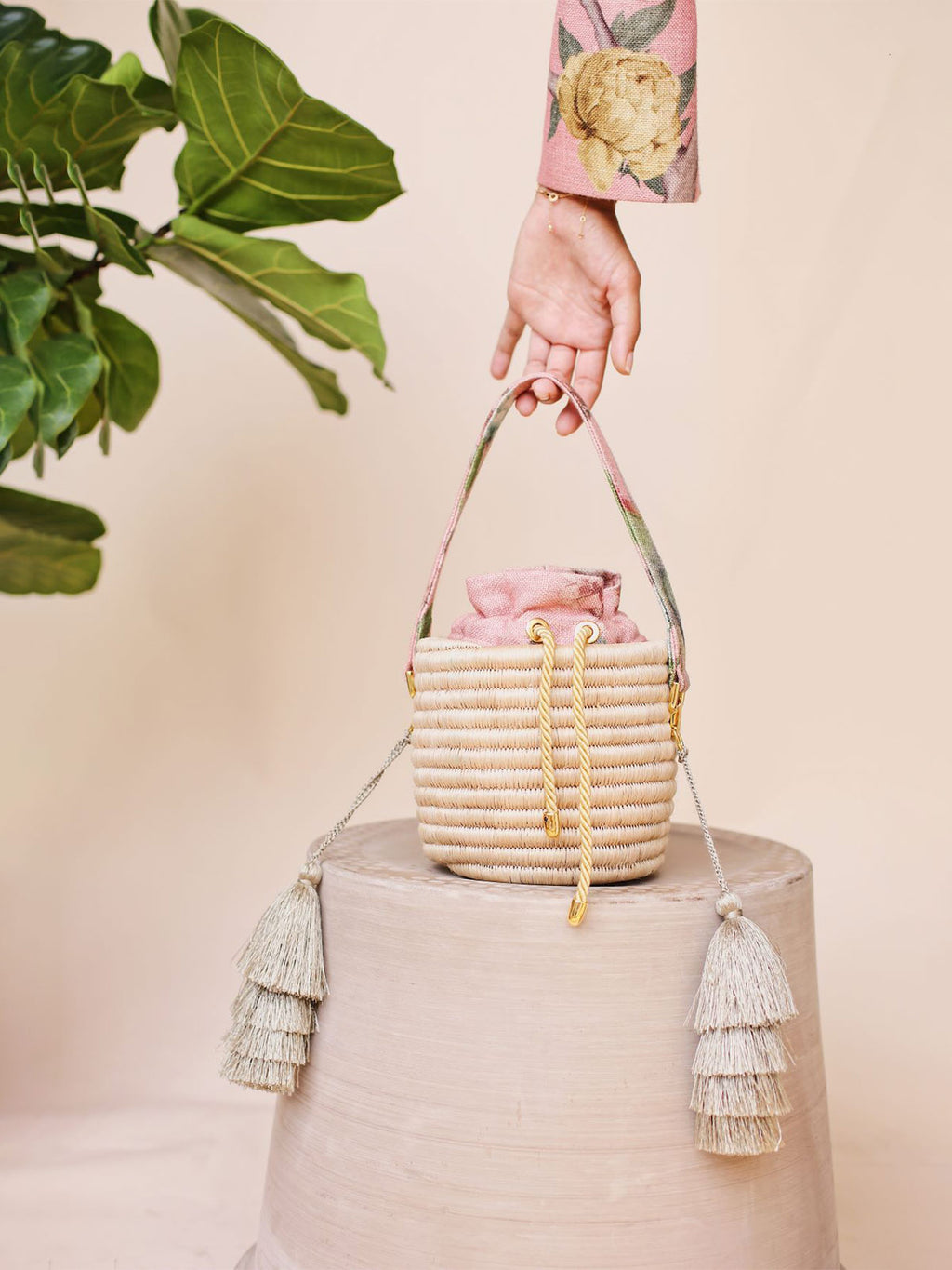 Bucket Bag | Paraiso Rose