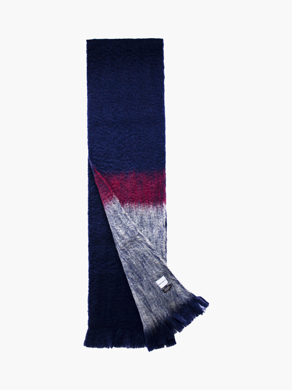 Oversized Mohair Scarf | No. 9