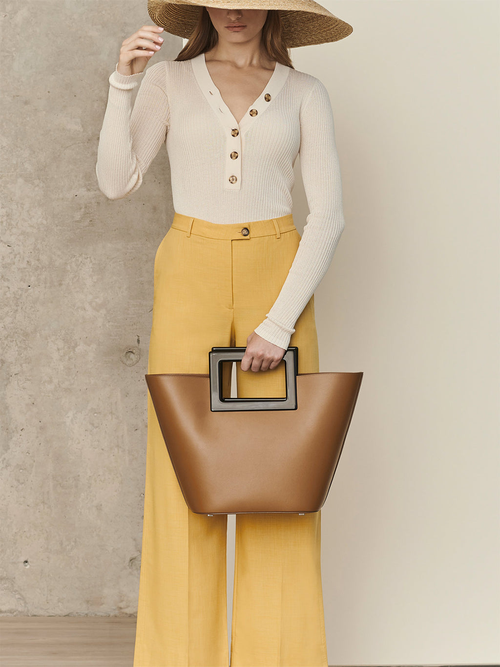 Riviera Bag | Caramel Leather