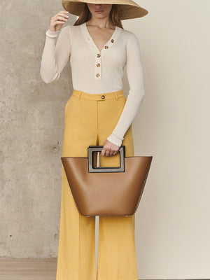 Riviera Bag | Caramel Leather Riviera Bag | Caramel Leather