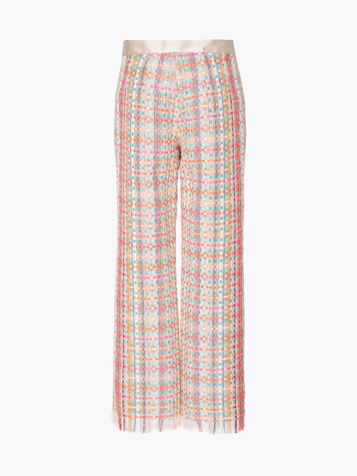 Flat Front Straight Leg Pant | Multicolor Flat Front Straight Leg Pant | Multicolor