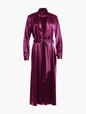 Long Sleeve Coat Dress | Sangria Long Sleeve Coat Dress | Sangria