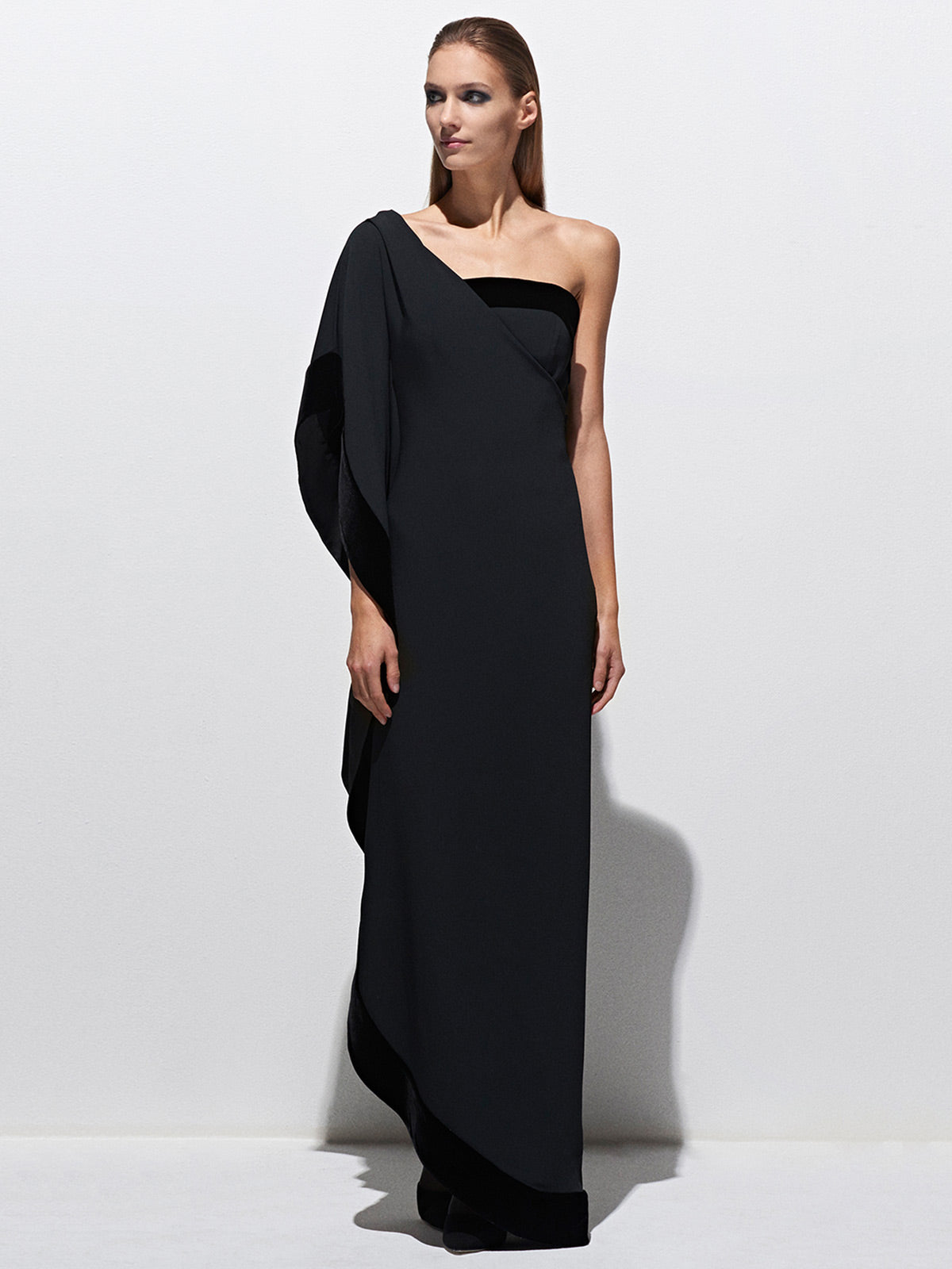 One Shoulder Gown One Shoulder Gown
