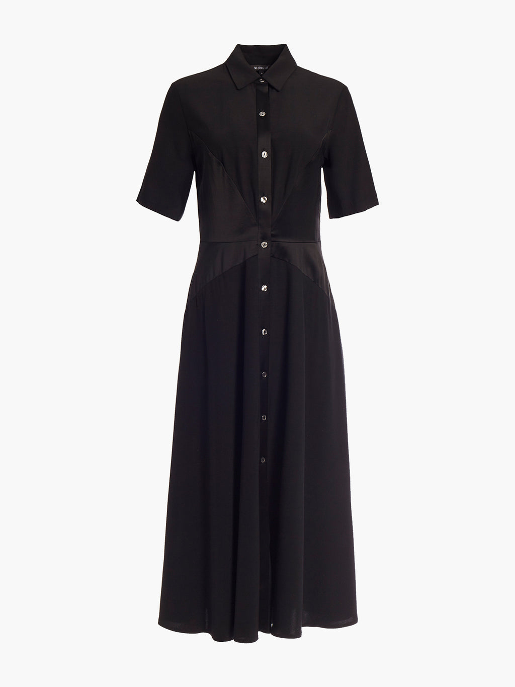 Shirt Dress | Black