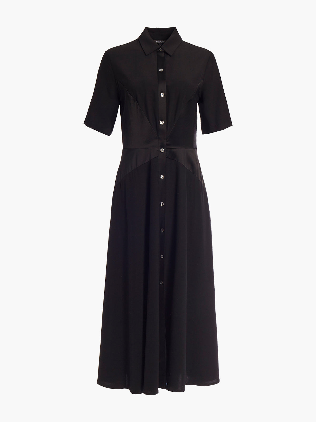 Shirt Dress | Black Shirt Dress | Black