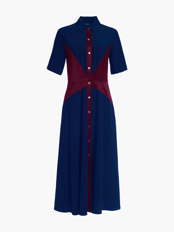Shirt Dress | Marine Shirt Dress | Marine