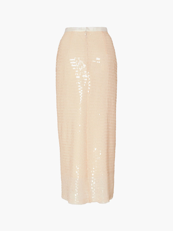 Straight Midi Skirt | Blush Straight Midi Skirt | Blush