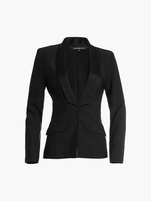 Tailored Jacket | Black Tailored Jacket | Black