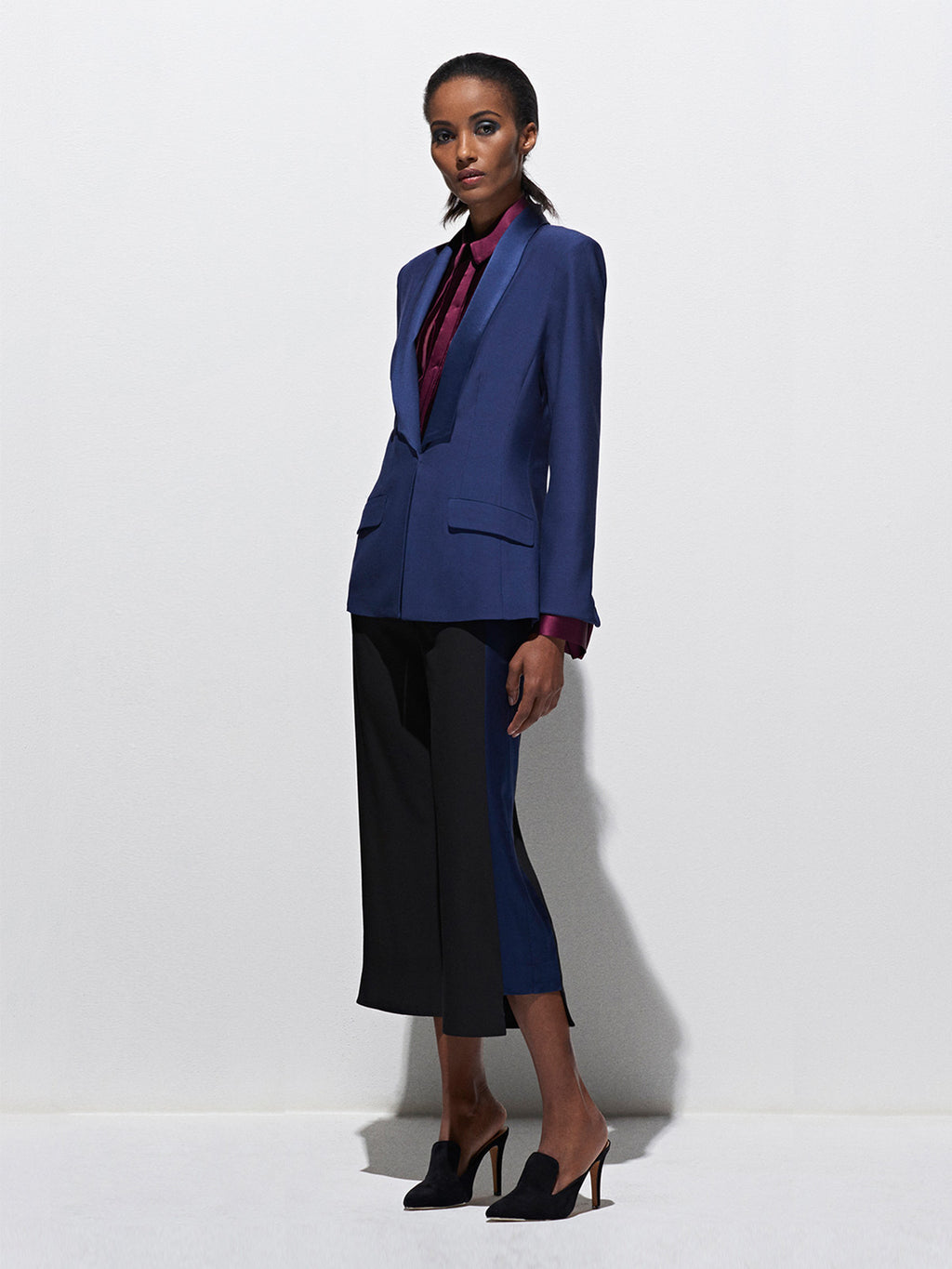 Tailored Jacket | Marine
