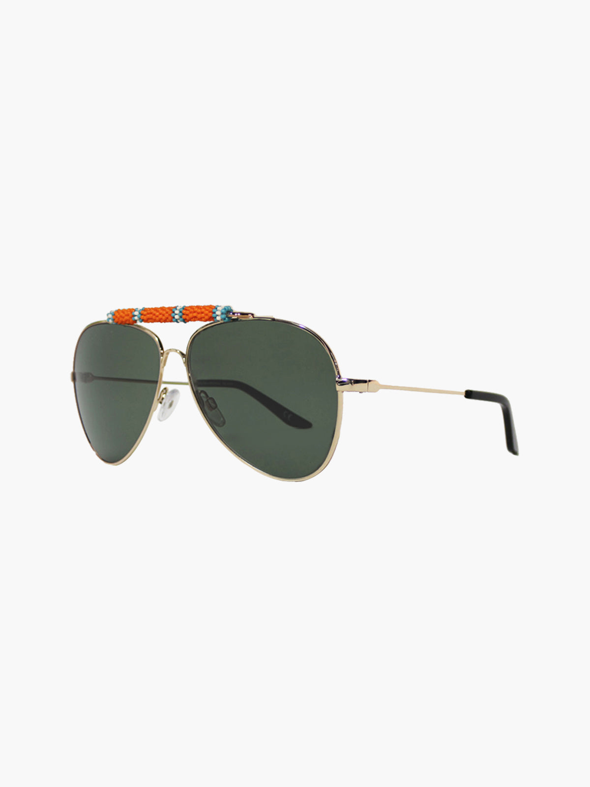 Exclusive Sunglasses | Orange/Turquoise Exclusive Sunglasses | Orange/Turquoise
