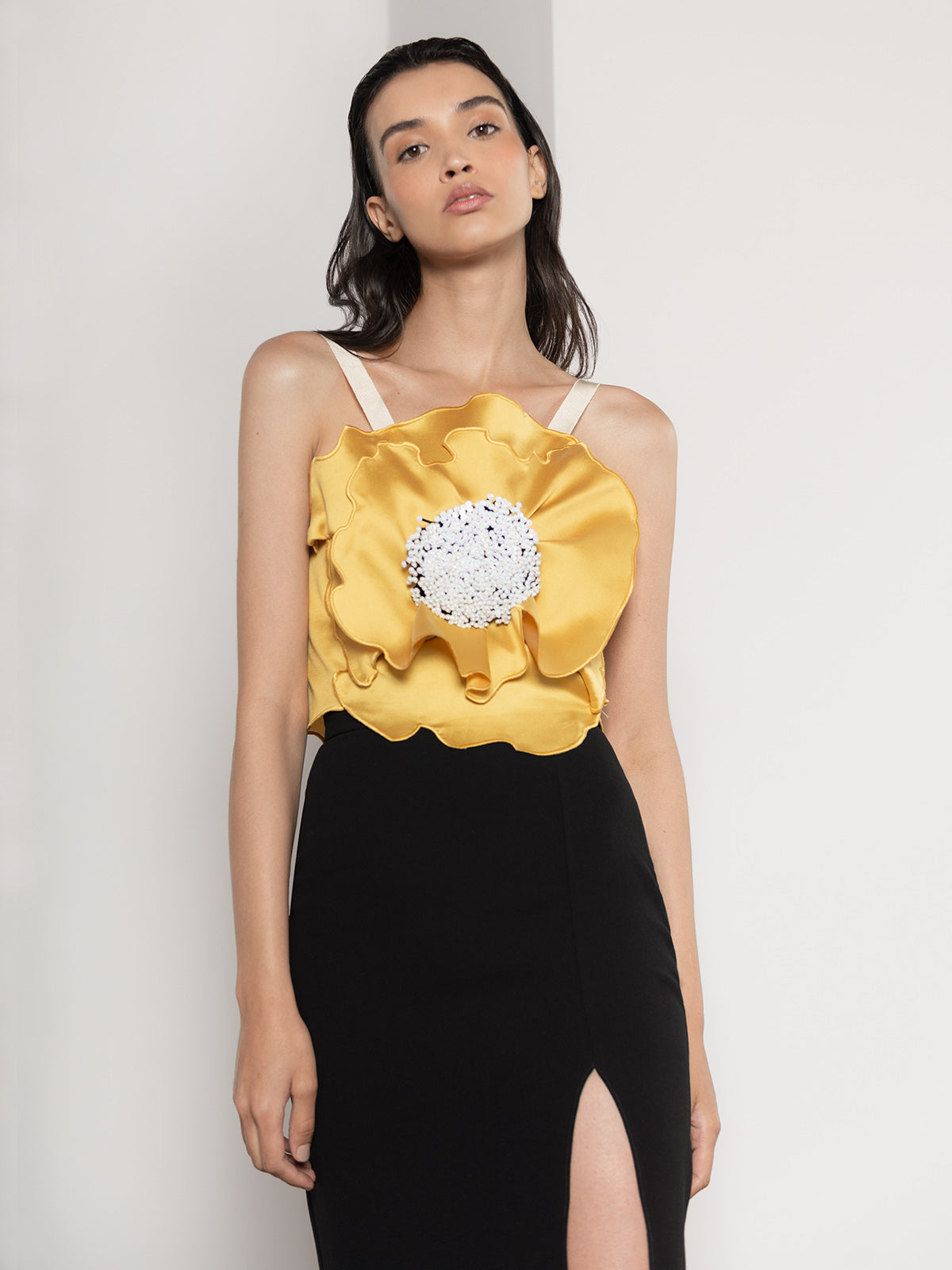 Poppy Top | Yellow