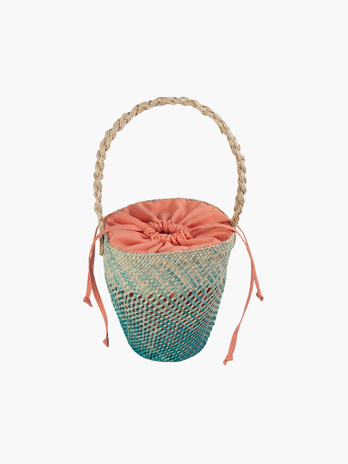 Basket Bag | Teal Basket Bag | Teal