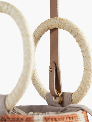 Cylinder Bag | Blush-Natural Cylinder Bag | Blush-Natural