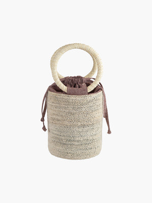 Cylinder Bag | Natural-Rust Cylinder Bag | Natural-Rust