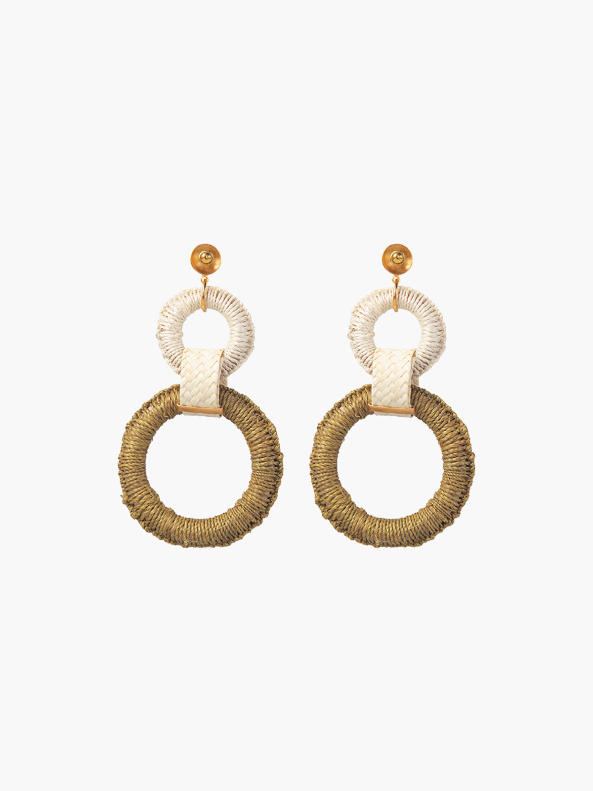 Double Maguey Hoops | Jungle Double Maguey Hoops | Jungle