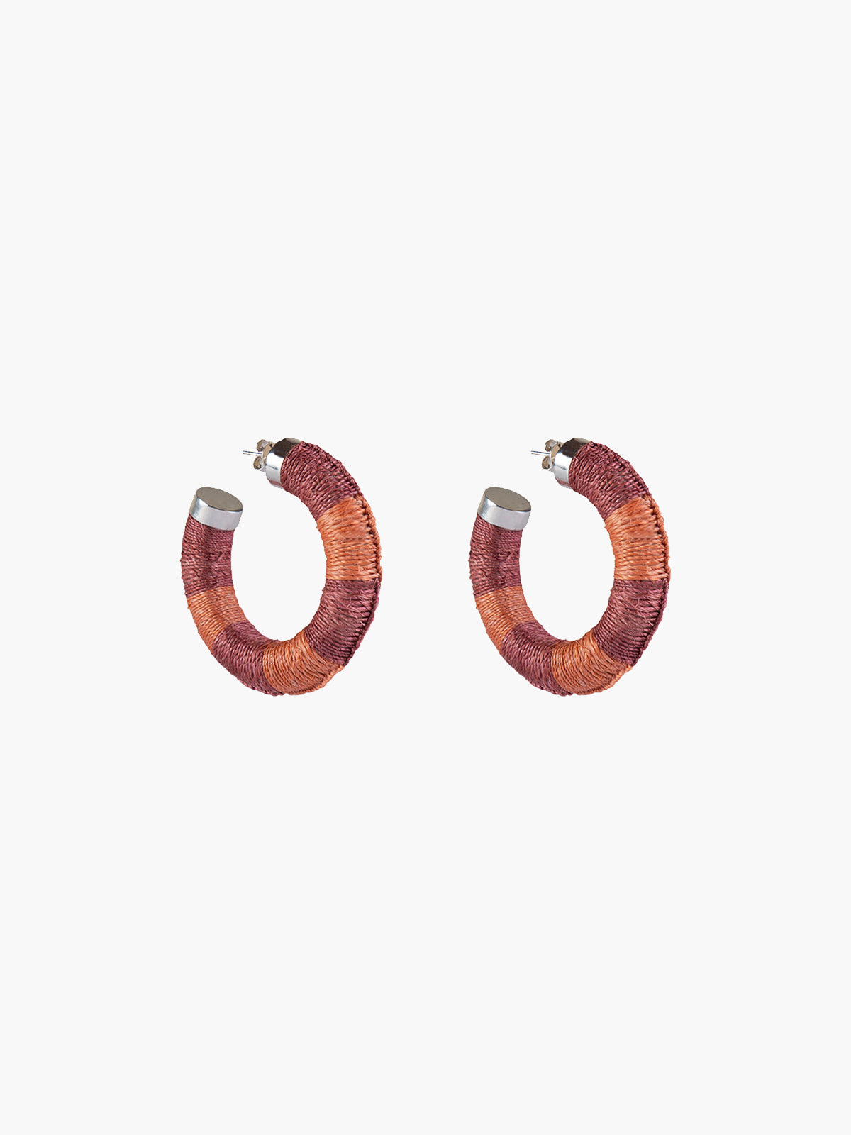 Maguey Hoops | Blush-Apricot Maguey Hoops | Blush-Apricot