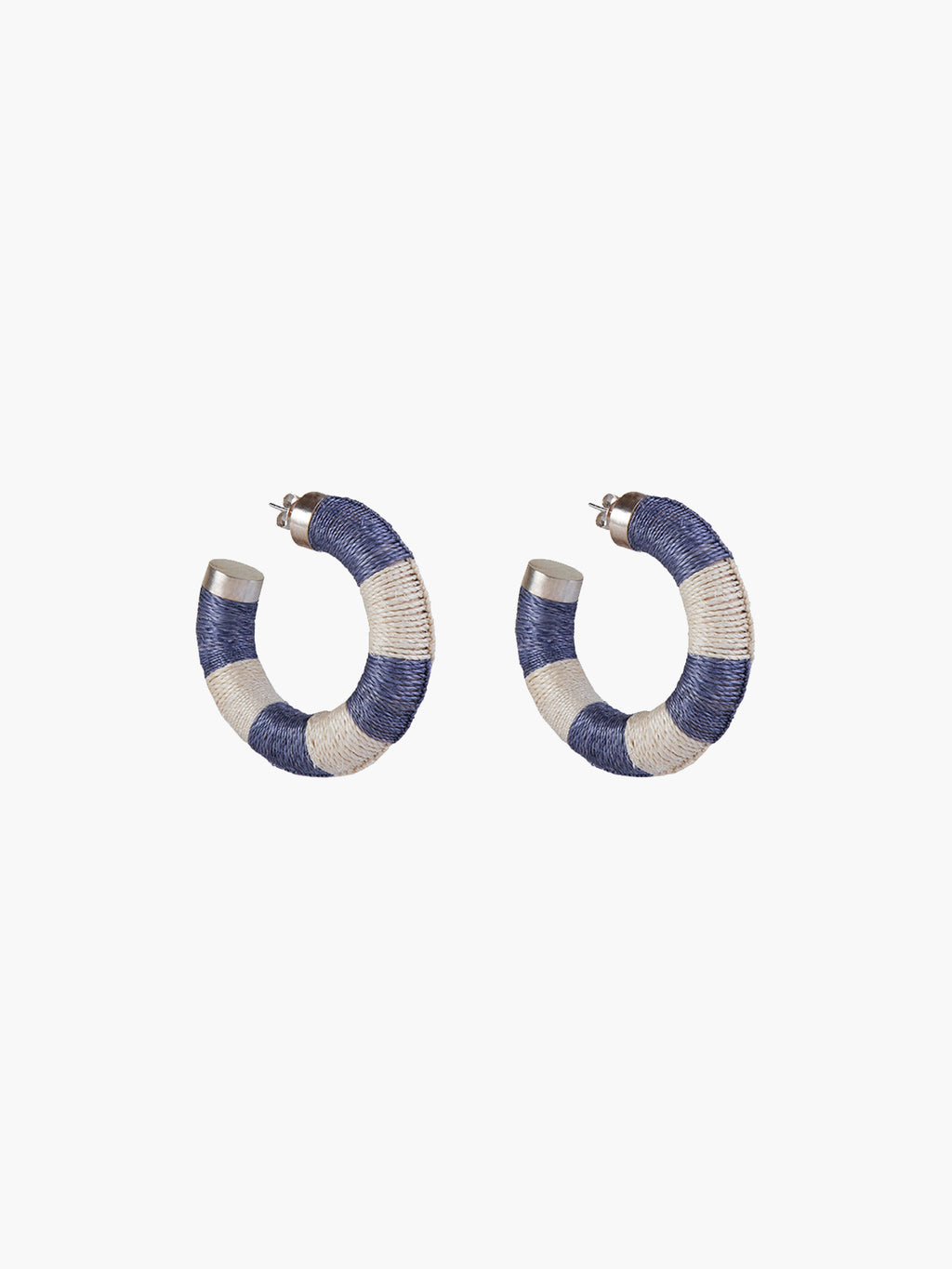 Maguey Hoops | Blue-Natural