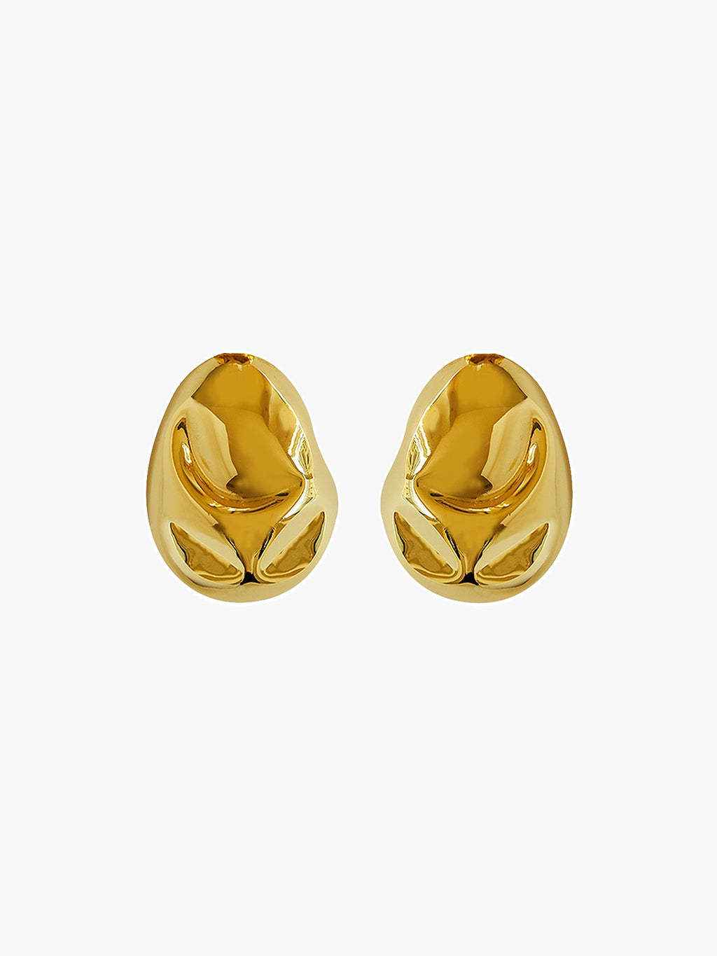 Cubagua Earrings | Gold