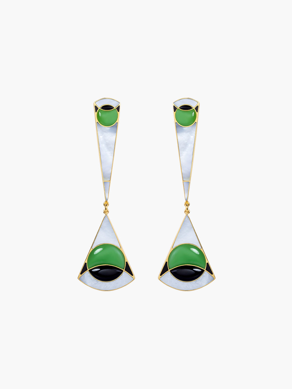 Ennio Chandelier Earrings
