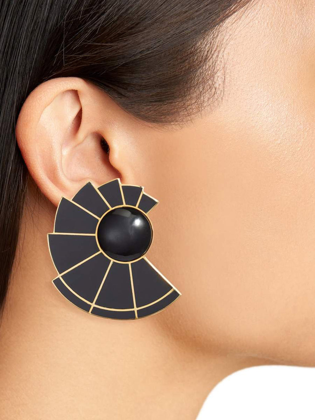 Nautilus Ear Fans | Black