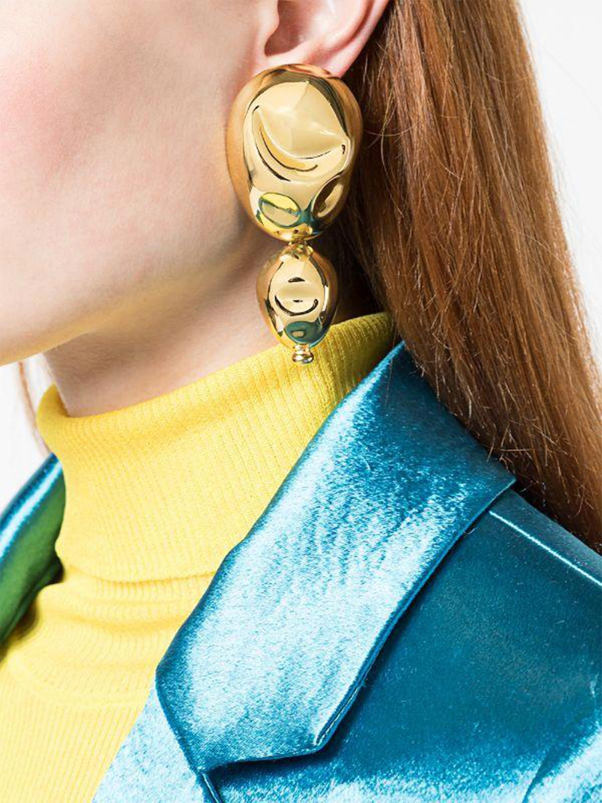 Oriente Earrings | Gold