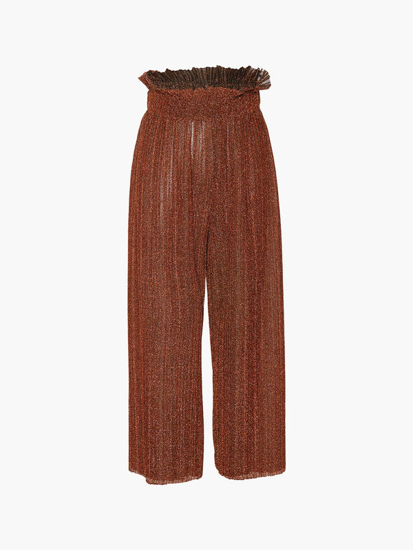 Pleated Wide Leg Paperbag Pants Pleated Wide Leg Paperbag Pants