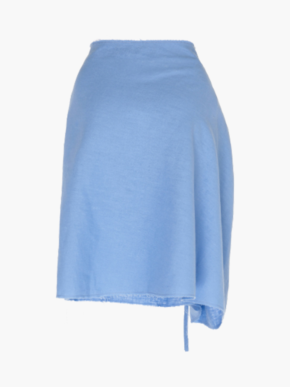 Zinnia Skirt | Blue Linen