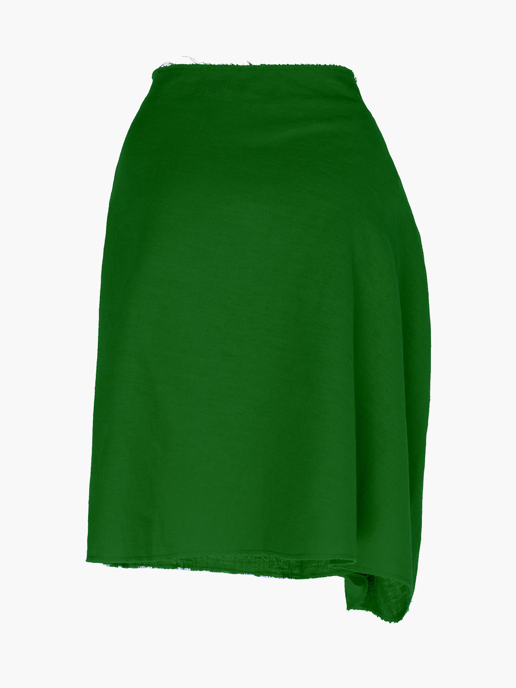 Zinnia Skirt | Green Linen