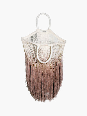 Large Fringe Tote | Ombre Tan Large Fringe Tote | Ombre Tan