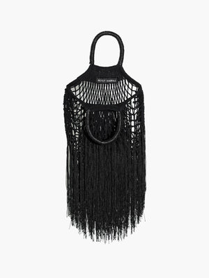 Mini Fringe Bag | Black Mini Fringe Bag | Black