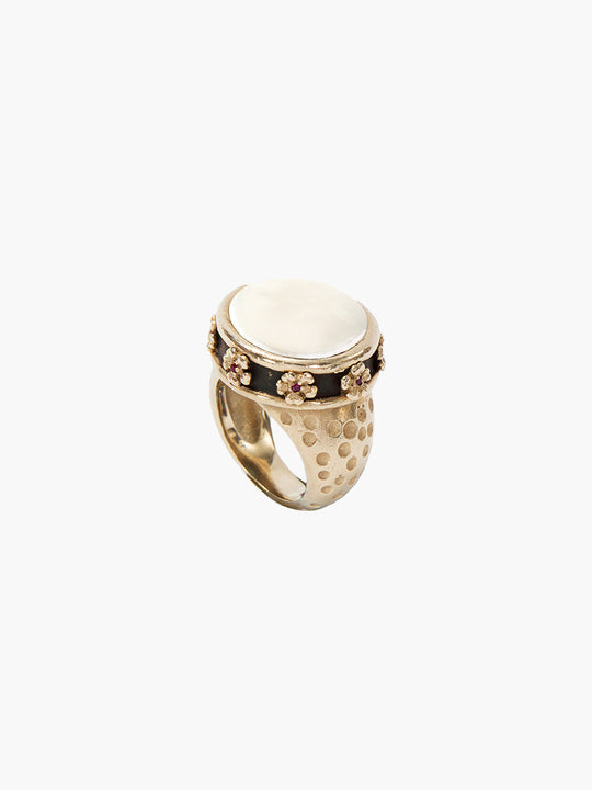 Exclusive Noora Ring | Coin Pearl